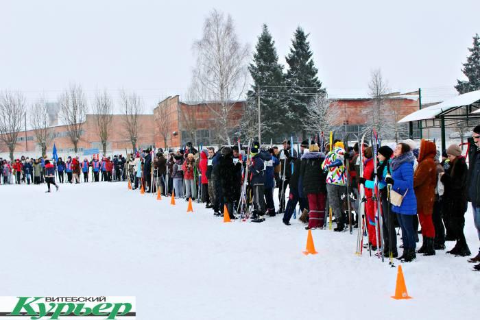 В Шумилино весну встречали на лыжах