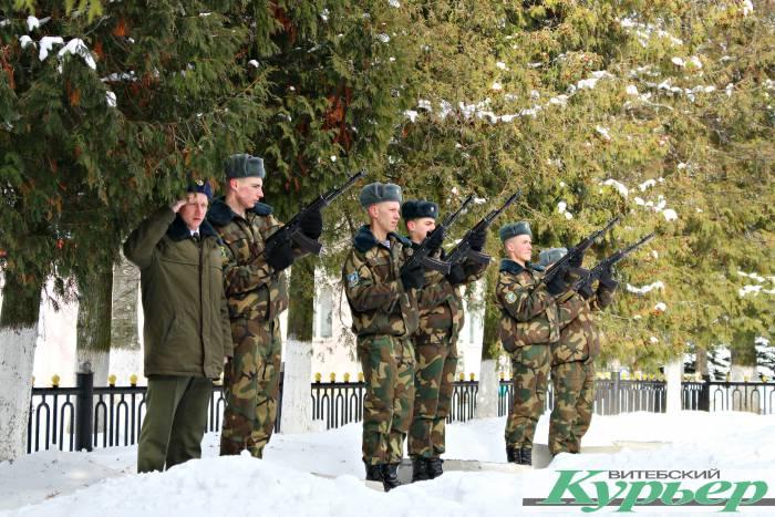 Как отметили День защитника Отечества в Шумилино