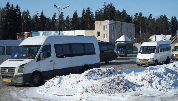 маршрутка автовокзал Новополоцк
