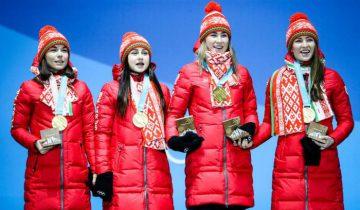 олимпиада биатлн чемпионки