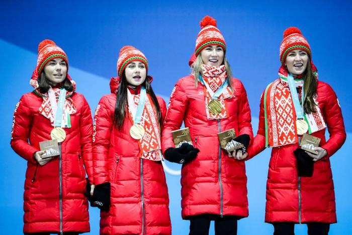 Алимбекова, Домрачева, Кривко, Скардино: 4 коротких факта о победе наших девочек в Олимпиаде-2018