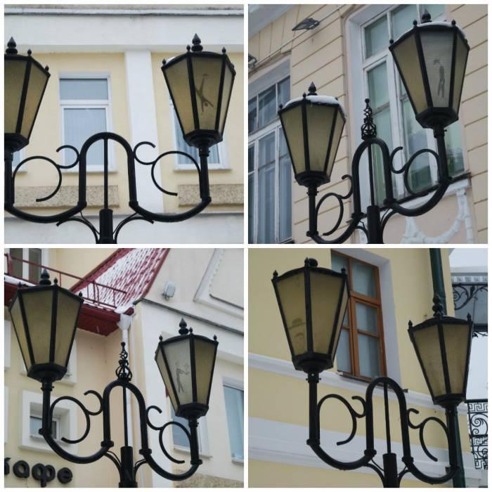 Совсем недавно в Витебске в уличных фонарях поселился Дядя Витя. А вы его видели?