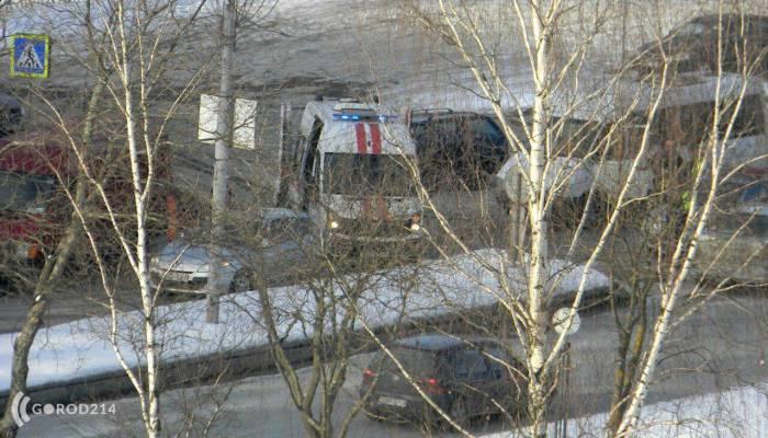 В Новополоцке маршрутка врезалась в Рено, в котором находился ребенок