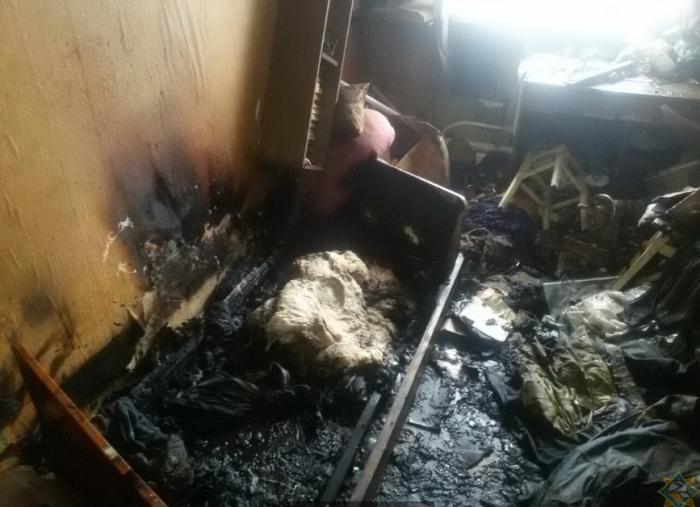 Пожар Толочин