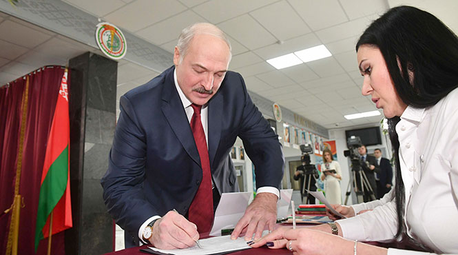 выборы. Лукашенко