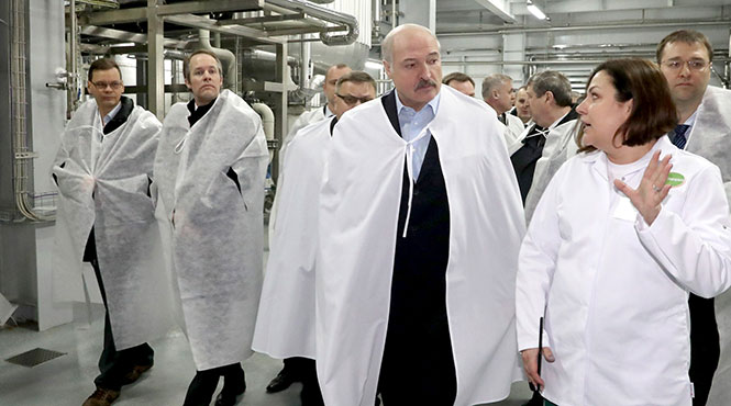 слуцк завод президент лукашенко