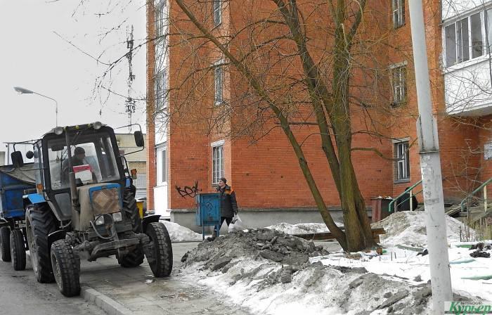 Как работают службы ЖКХ в Витебске. События «развивались стремительно»