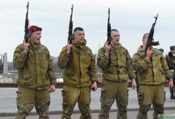 100-летие внутренних войск Беларуси торжественно отметили в Витебске
