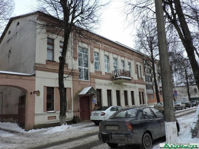 витебск, октябрьская, здание