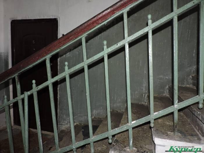 дом, задвинье, революционная, лестница