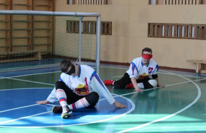 В Витебске соревновались спортсмены с нарушениями зрения