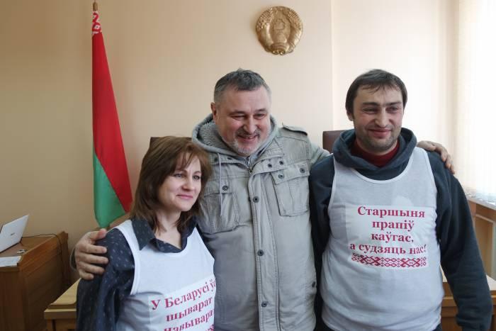 Елена Шабуня, Павел Левинов и Вячеслав