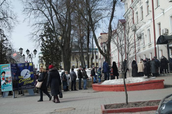 В Витебске за Путина проголосовало около 85% россиян