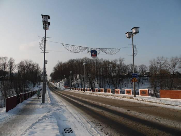 полоцк, красный мост