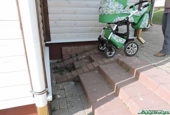 Проверено лично: а везде ли в Витебске можно пройти с коляской?