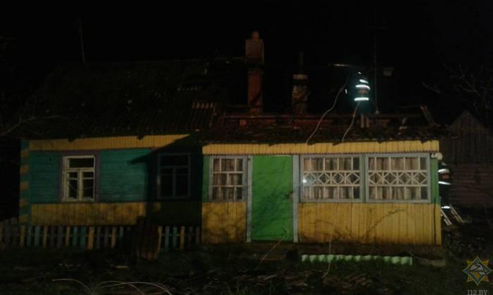 В Докшицком районе автономный пожарный извещатель спас жизнь матери и сыну
