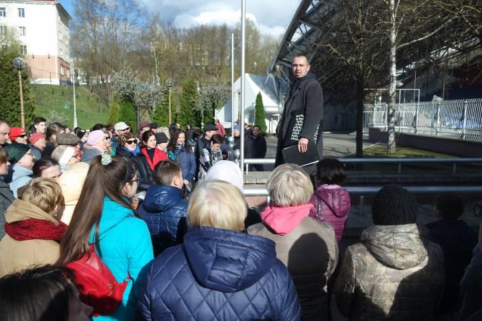 В Витебске завершился «Фестиваль экскурсоводов»