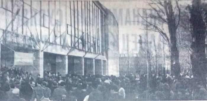 Восхищение и удивление конца 60-х. Ровно полвека назад в Витебске открылся «Комсомолец»