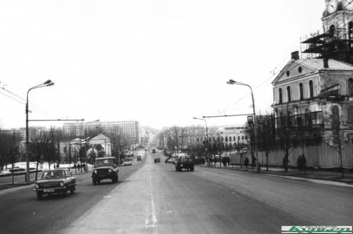 Витебск на фотографиях 80-х: улица Ленина