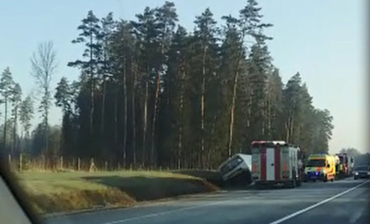 авария дтп латвия автобус