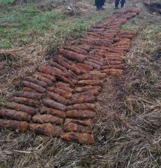 снаряды мины боеприпасы