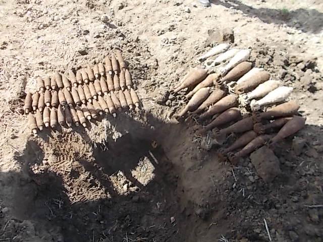 Мины снаряды боеприпасы