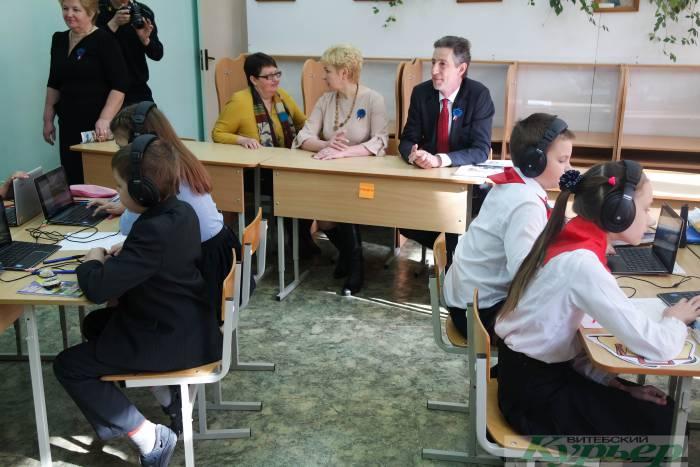 Как в витебской гимназии встречали Полномочного Посла Франции Дидье Канесса