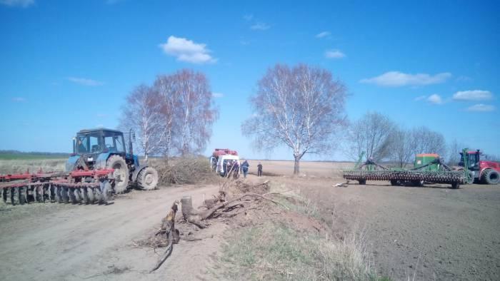 трактор дтп авария