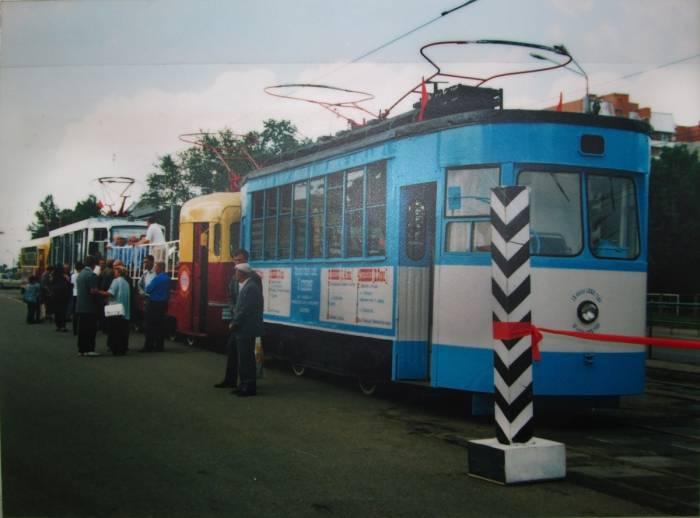 Где в Витебске можно увидеть самый старый трамвай в Беларуси