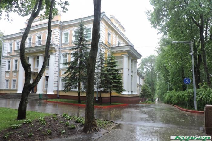«Не рыдай», крокет, кегельбан и лаун-теннис в саду имени Ленина в Витебске