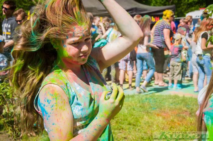 Фестиваль красок в парке Железнодорожников: как это было