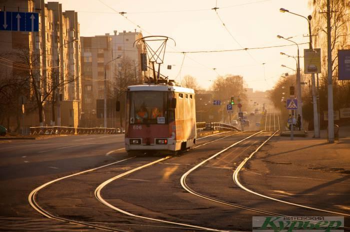 Витебский трамвай в цифрах: сколько составляет тормозной путь и почему у вагончика такая нелегкая жизнь