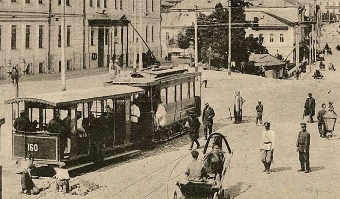 120 лет назад началась «трамвайная» эра в истории Витебска