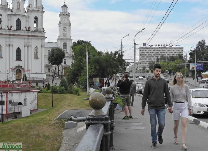 Теплая погода с небольшими дождями будет в Витебске в ближайшие дни