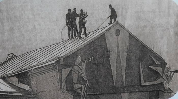 Где в Витебске были четырехметровые ангелы, которых уничтожили в конце 90-х