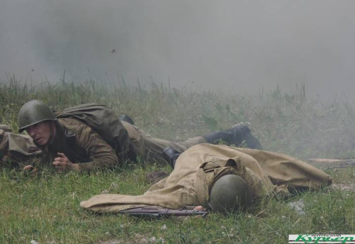 На День города реконструировали Витебско-Оршанскую наступательную операцию