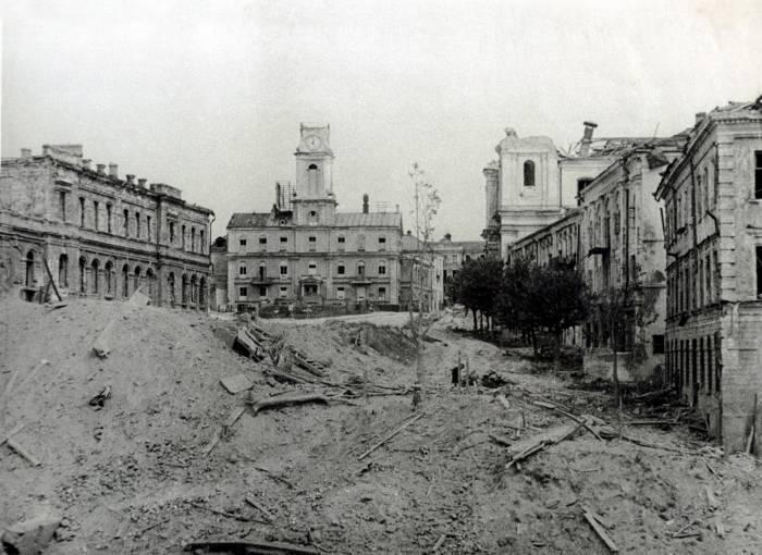 Витебск в годы войны: редкие кадры