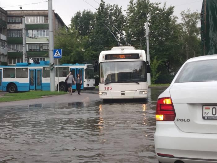 В Витебске поплыло всё: рынки, улицы и даже «Корона»