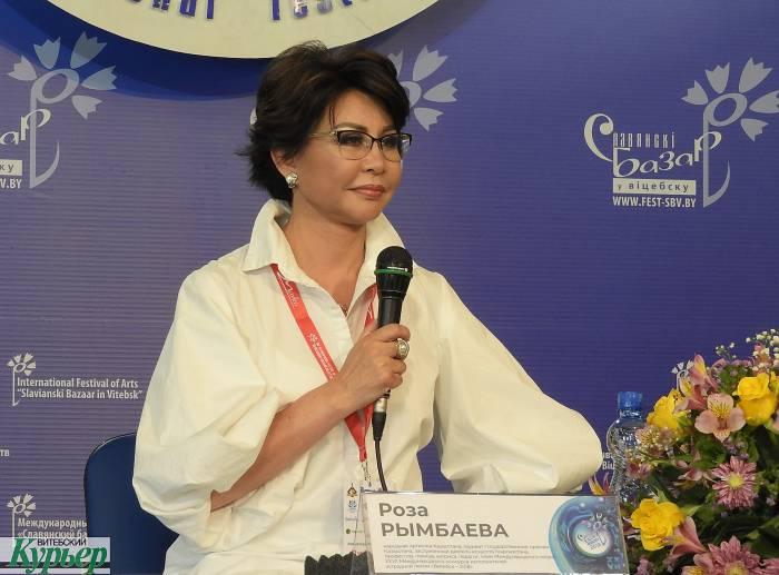В Витебске легенда казахстанской эстрады Роза Рымбаева рассказала, легко ли быть женщиной, певицей и человеком
