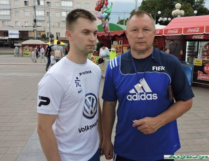 Интуитивный футбол в Витебске. Как в него играют? (видео)