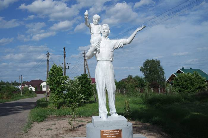 скульптура Орлово