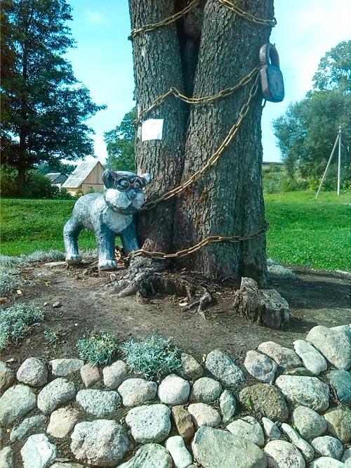 В Браславском районе в агрогородке Ахремовцы открыли необычную библиотеку в бочке