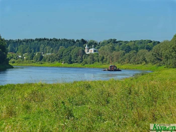 Западная Двина - самая чистая река в Беларуси