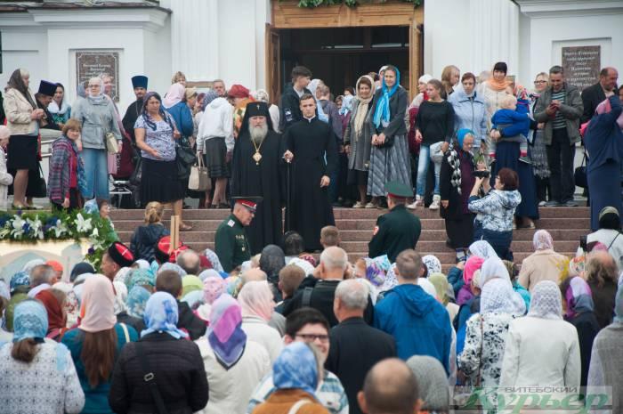 Как в Витебске праздновали Успение Пресвятой Богородицы