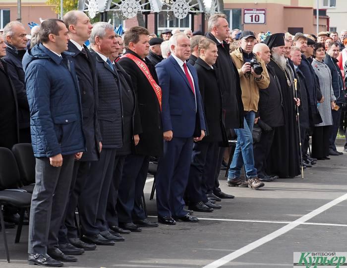 7 известных официальных лиц Беларуси, которых мы увидели на «Дожинках» в Верхнедвинске