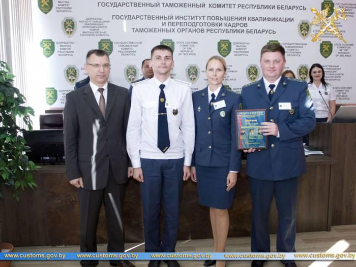 Команда Витебской таможни в этом году заняла I место среди команд всех таможен Республики Беларусь