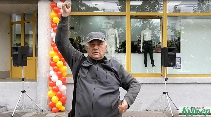 В Витебске сегодня открылся новый секонд. Мужчина, который сделал наш день