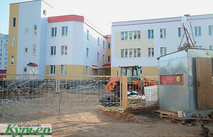 Детсад в микрорайоне «Билево-2» откроют в ноябре, а к «Дожинкам-2020» в Витебске сдадут и школу