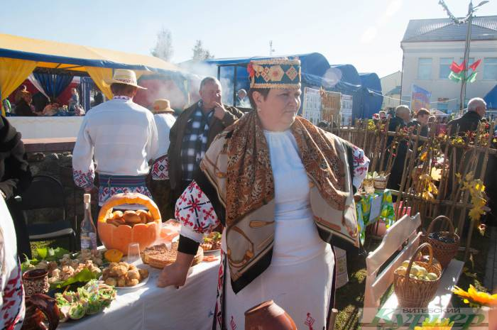 Праздник в Лиозно. Тепло, весело и от души