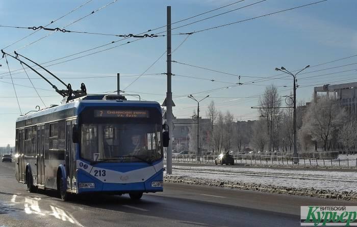 В трамвайно-троллейбусном парке Витебска есть 50 вакансий кондукторов